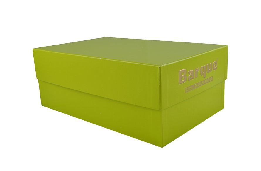 Scatola personalizzata verde pisello